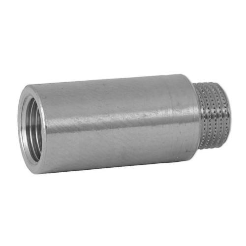 Anschweißnippel Stahl 15cm