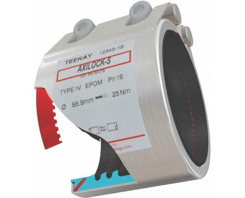 Outil de raccordement Teekay Axilock-S Type d'accouplement 4 EPDM-scellage