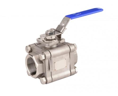 Vannes à boisseau sphérique haute pression PN 100 IG