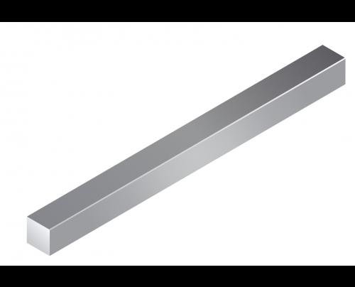 Blanker Vierkant EN10278 +C gez. h11
