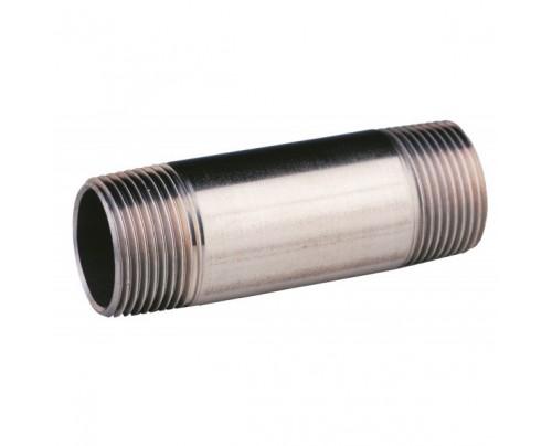 niple doble de tubo largo