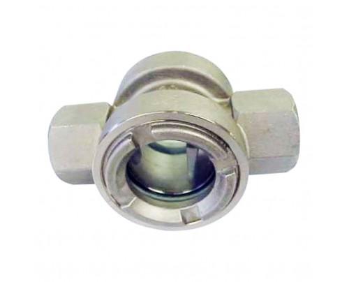 Mirilla de cristal roscada PN 16
